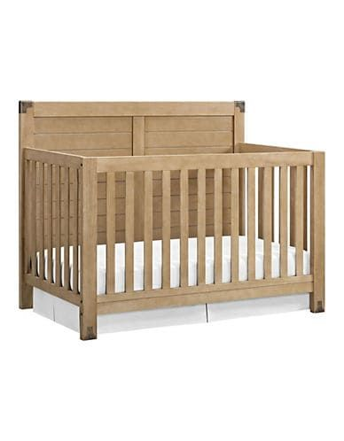 Baby Relax Ridgeline 4 In 1 Wooden Convertible Crib Natural New Baby Products Rustic Crib