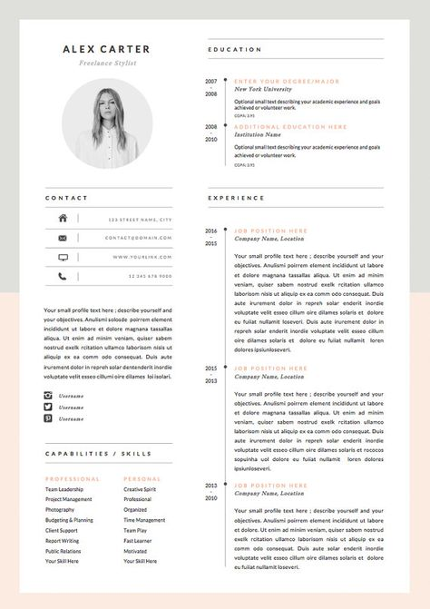 Freelance Graphic Designer Resume Mono Resume  Design Resume And Infographic Resume