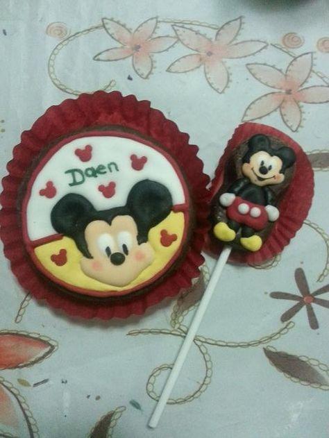 "Micky Mouse creaciones de pic ibañez ""Perlitas Dulces"""