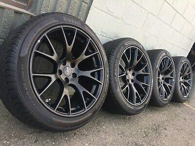 Oem 20 Dodge Challenger Charger 2528 Hellcat Srt 392 Wheels Rims Pirelli Tires Wheel Rims Challenger Wheels Pirelli Tires