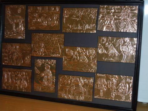 Copper Foil Class Project Framed Art Auction Projects Auction Projects Classroom Projects