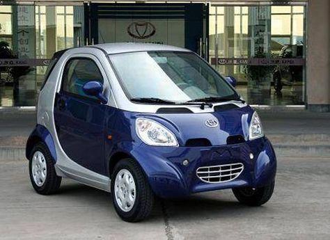 Italian Made Tazzari Electric Car At Valletta The Capital Of