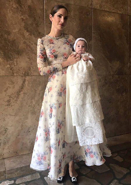 Vestidos Para La Mama Del Bautizo En 2019 Vestido Para