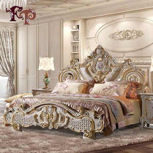 Source Luxury Classic King Size Wood Mdf Royal French Style Barocco Bedroom Furnit French Style Bedroom Furniture Luxury Bedroom Furniture French Style Bedroom