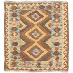 Kelim Afghan Old Style Teppich 91x97 Orientalischer Quadratisch Teppich Kelim Afghan Old Style Teppich 91 In 2020 Quadratische Teppiche Teppich Afghanische Teppiche