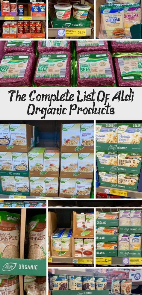 Ever Wonder What To Buy At Aldi Check Out The Complete List Of