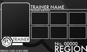 Trainer Card Template V2 0 By Pokemon League