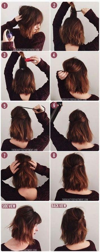 Susse Alltagsfrisuren Fur Kurzes Haar 3 Einfache Frisuren Fur Kurze Haare Youtube Cute Everyday Frisuren Kurzes Short Hair Styles Hair Styles Hair Lengths