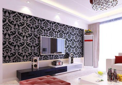 Wallpaper Dinding Ruang Tamu Rumah Minimalis Home Theater