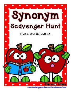 This Synonym Scavenger Hunt Identifies Quot Synonyms Quot That You Can Use As A Review First You Will Hide All Scavenger Hunt Synonym Synonyms And Antonyms A synonym is an alternative name for objects such as tables, views, sequences, stored procedures. this synonym scavenger hunt identifies
