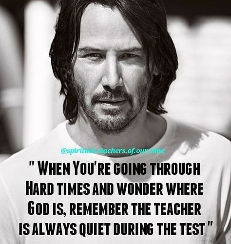 Maybe is in the test 🙏 . Follow👉@dailyspiritualquotes ✨ . . . . Via @spiritual.teachers.of.our.time #keanureeves #thematrix #neo #hollywood…