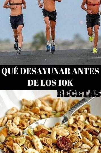 Qué Desayunar Antes De Correr Los 10k Desayunos Para Deportistas Desayuno Dia De La Salud