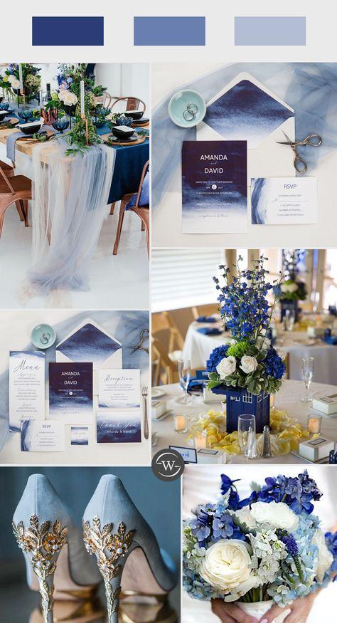 midnight blue hue wedding invitations - modern midnight blue hue wedding invitations -modern midnight blue hue wedding invitations - modern midnight blue hue wedding invitations - elegant c.
