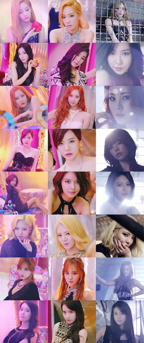 SNSD - party, lion heart, you think, talk talk, bump it, one afternoon