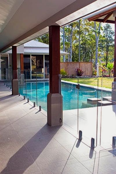 25 Outstanding Pool And Pergola Designs In 2021 Glass Pool Fencing Pool Fence Glass Pool