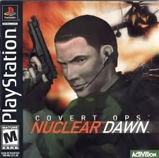 Covert Ops Nuclear Dawn Psx Iso Rom With Images Playstation