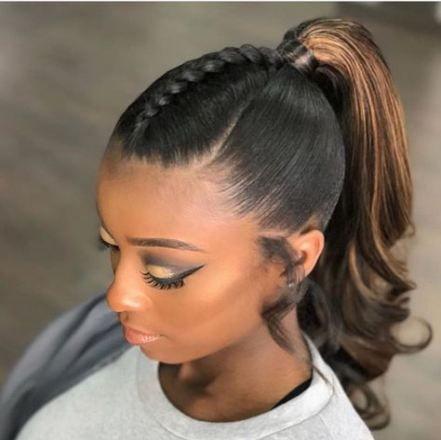 57 Trendy Braids For Black Women Over 50 Medium Lengths Hair Styles Medium Length Hair Styles Womens Hairstyles