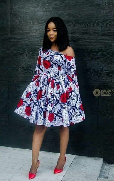 Stunning ankara short gowns | DarlingNaija
