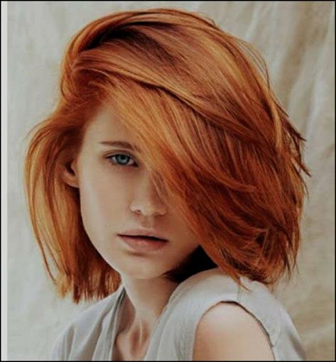 Kupfer Haarfarbe Kurze Haare Kupfer Haarfarbe Bob Frisur