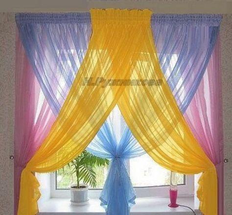 Vackra färgglada gardinidéer för att göra fantastiskt landskap i ditt hem 6911