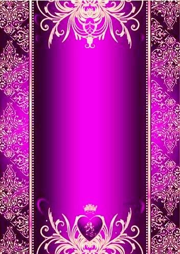 Purple Gold Wallpaper By Artist Unknown Purple And Gold