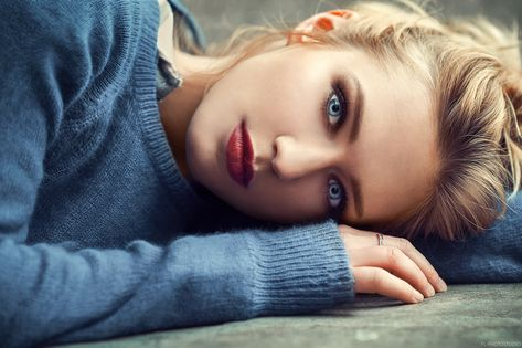 Blue Eyes Girl, HD Girls, 4k Wallpapers, Images, Backgrounds