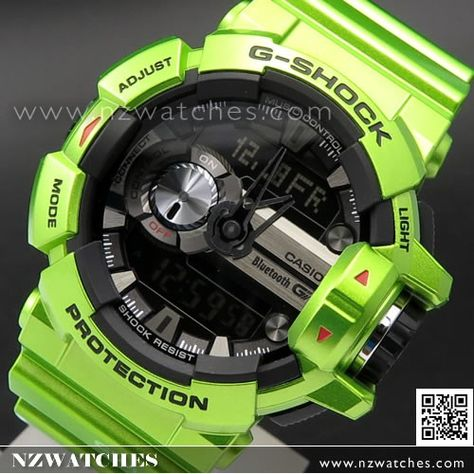 5ad34b7fdf78 Casio G-Shock Bluetooth G Mix Music Control 200M Shiny White Sport Watch GBA -400-7C