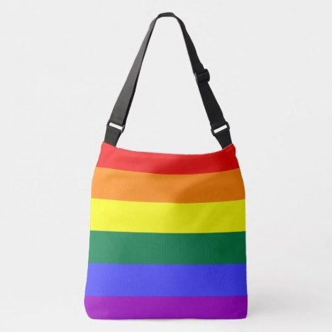 Rainbow Tote Bag Pride Flag Pride Bag Pride Rainbow Bag LGBTQ Pride Tote Bag Gay Pride Bag Rainbow Striped Tote Bag Pride Gift