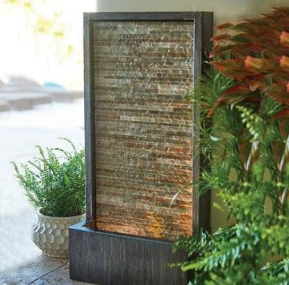 Backyard Water Feature Wall Outdoor Fountains 24 Ideas Backyard