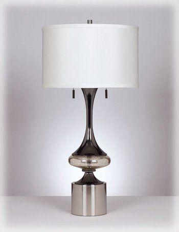 Ashley L433294 Art Deco Chrome Desk Lamp Pack Of 2 By Ashley