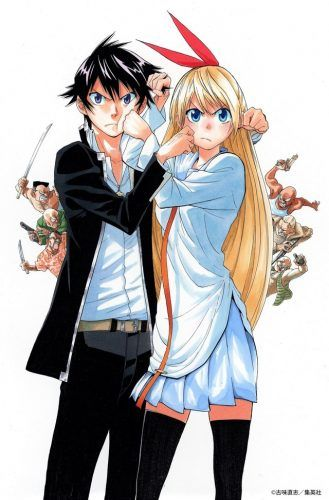 Live Action Nisekoi Movie Reveals Chitoge And Raku Nisekoi Chitoge Nisekoi Nisekoi Manga