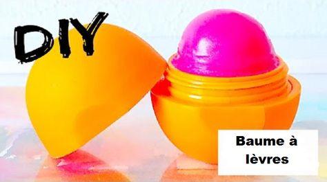 Comment fabriquer un baume à lèvres EOS parfumé et coloré pour jeunes filles! Tutoriel vidéo