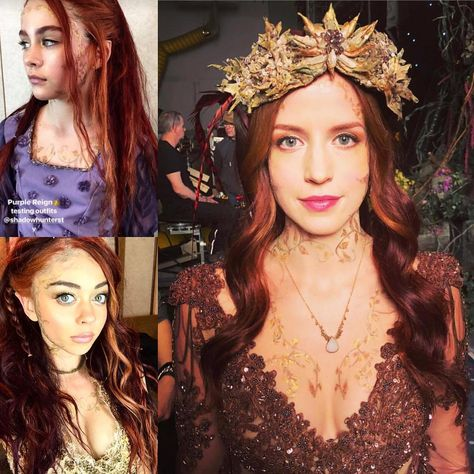 The Queen(s) will see you now 👑🧚🏻♀️ • #shadowhunters #claryfray #jaceherondale #simonlewis #isabellelightwood #aleclightwood #magnusbane…