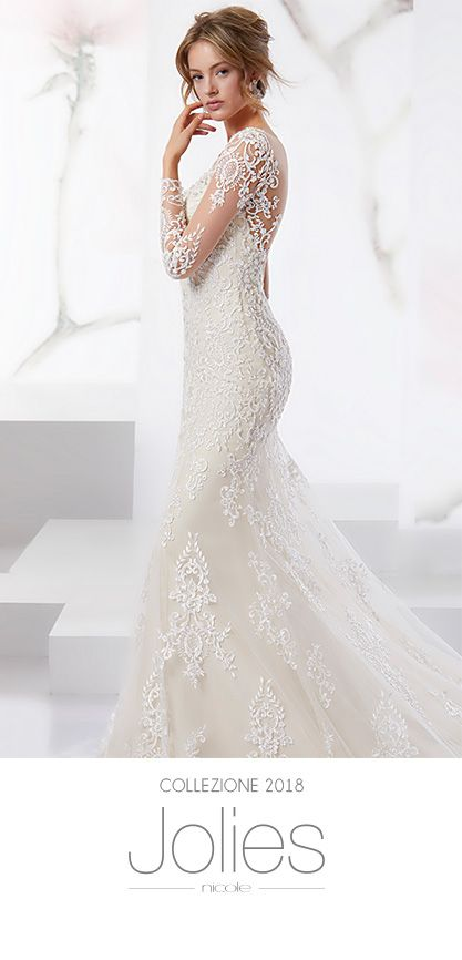 Collezione 2018 Abiti Da Sposa.Abiti Da Sposa Jolies Collezione Abiti Da Sposa 2019 Nicole