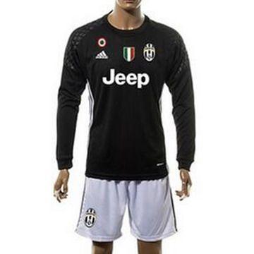 ce2485a0ecc9b Camiseta Juventus manga larga negro 2016 2017