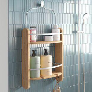 Shower Bath Caddies Accessories Racks You Ll Love Wayfair Co Uk In 2020 Shower Caddy Bath Rack Small Bathroom Storage Solutions