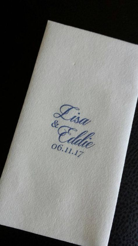 Monogrammed Paper Guest Towels Hand Towels Napkins Or Serviettes