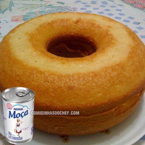 Bolo De Leite Condensado Recipe Brazillian Food Food