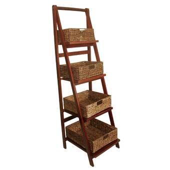 4 Ft Blanket Ladder Blanket Ladder Wood Ladder Ladder Storage