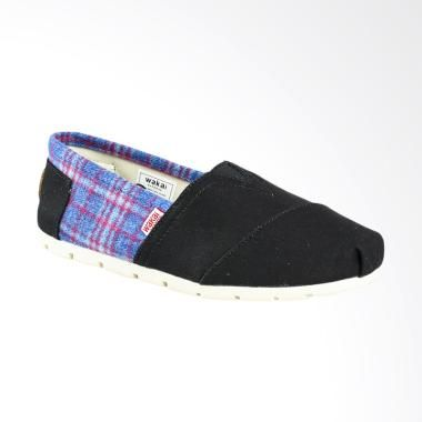 Wakai Wak Sw017bg Cuhai Sepatu Unisex Black Sepatu Dan Produk
