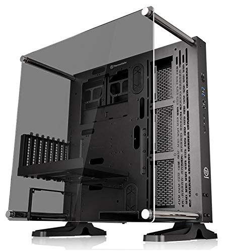 Thermaltake Core P3 Atx Tempered Glass Gaming Computer Case Chassis Open Frame Panoramic Viewing Black Edition Ca 1g4 00m1 In 2020 Pc Cases Best Computer Computer Case