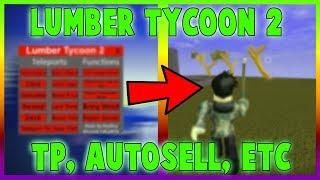 NEW ROBLOX LUMBER TYCOON 2 HACK/SCRIPT | TELEPORT, AUTOFARM