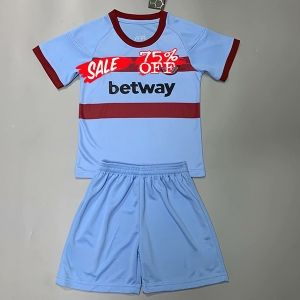 Kids Youth West Ham United 20 21 Wholesale Away Cheap Soccer Kit Sale Shirt Kids Youth West Ham United 20 21 Wholesale Away Ch In 2020 Soccer Kits Soccer Soccer Jersey