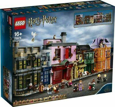 Lego 75978 Harry Potter Diagon Alley Brand New Sealed Harry Potter Diagon Alley Lego Harry Potter Harry Potter Lego Sets