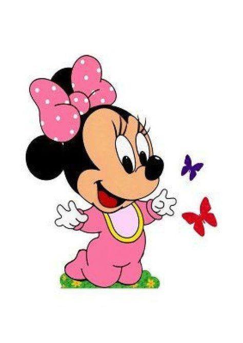 Minnie Baby Desenho De Papel Desenhos Animados Anos 80 E Bebe