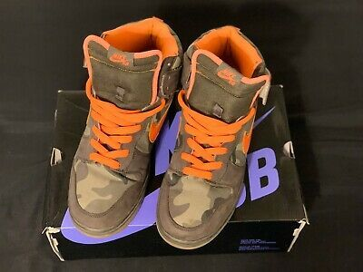 Boys Camouflage Chuuka boots size 13 NEW IN BOX