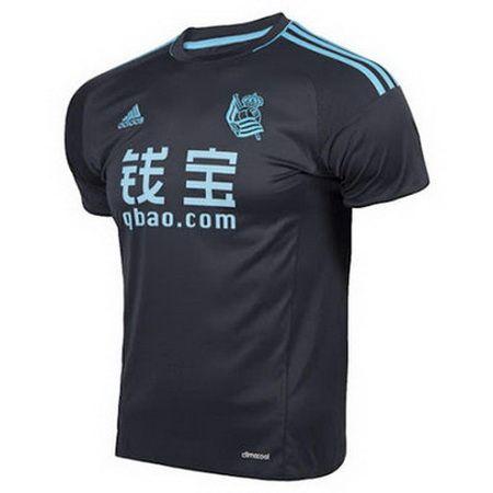 3481176f16d2a Tailandia Camiseta Real Sociedad 2016-2017 Segunda barata