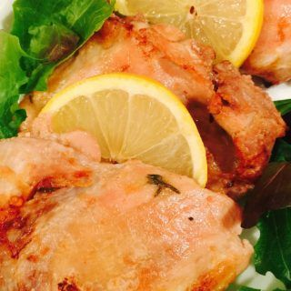 Baked Lemon Garlic Chicken Thighs 21 Day Fix Recipe On