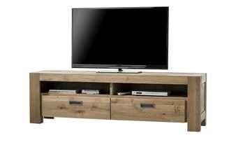 Henders Hazel Teilmassives Tv Lowboard Santorini Holzfarben 180 Cm 54 Cm 42 Cm Kommoden Sideboards Tv Hifi Mobel Echtholz Mobel Wohnzimmer Tv