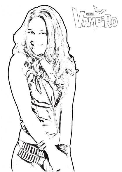 Coloriage Chica Vampiro A Imprimer Chicavampiroausmalbilder